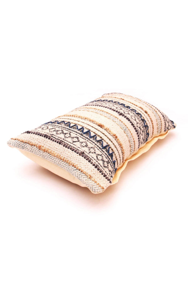 SOPHIA - LUMBAR CUSHION COVER - OFF WHITE - ART AVENUE
