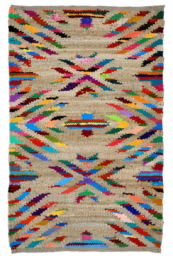 STARDOM - HANDWOVEN RUG - BROWN - ART AVENUE