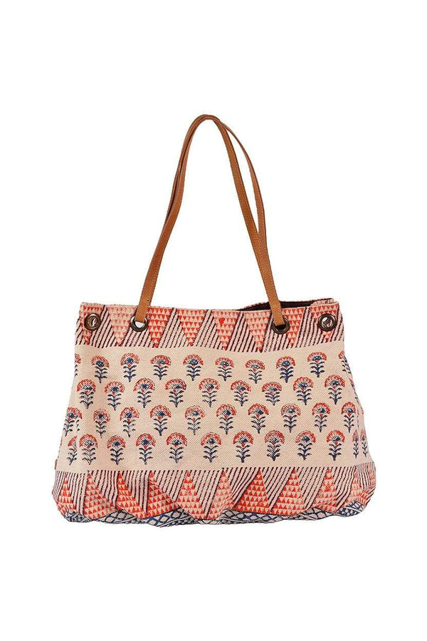 STEEZE - BLOCK PRINTED HAND BAG - ART AVENUE