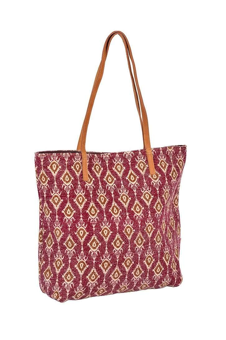 SULPHONY - PRINTED TOTE BAG - ART AVENUE