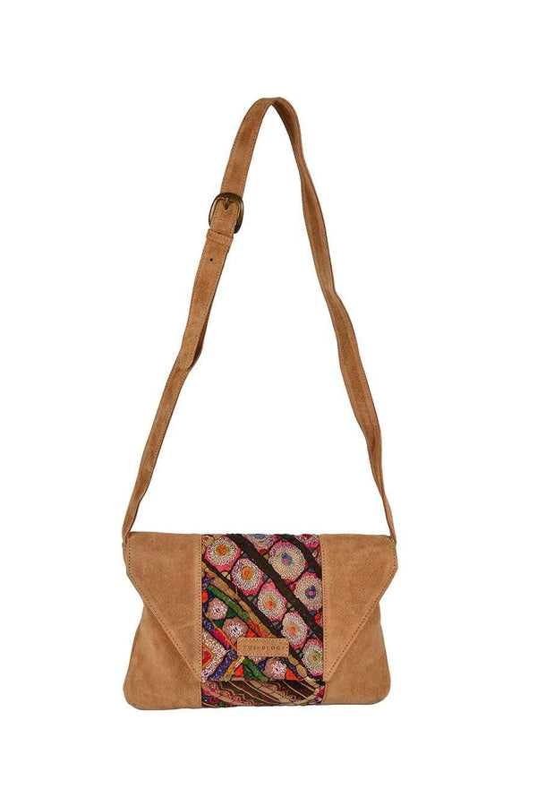 TRAP - PATCHWORK SLING BAG - ART AVENUE
