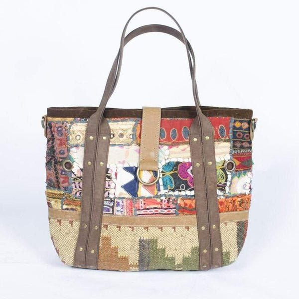 TREBLE - PATCHWORK BAG - ART AVENUE