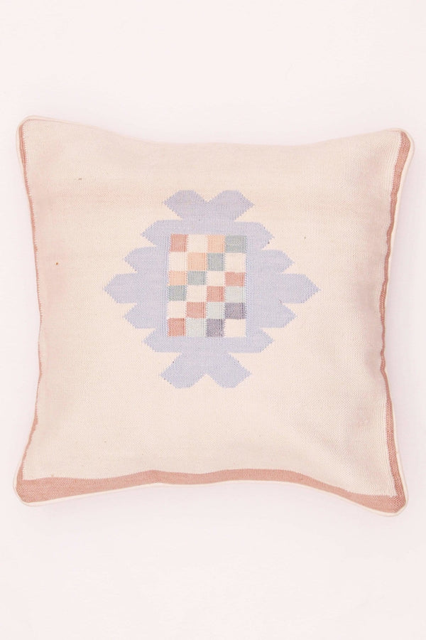 TWITCH - SQUARE CUSHION COVER - WHITE - ART AVENUE