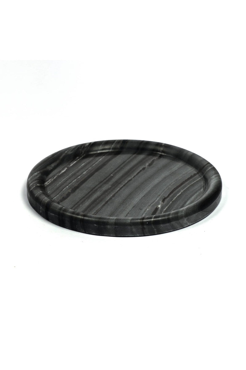 VANTAGE - MARBLE TRAY - BLACK - ART AVENUE
