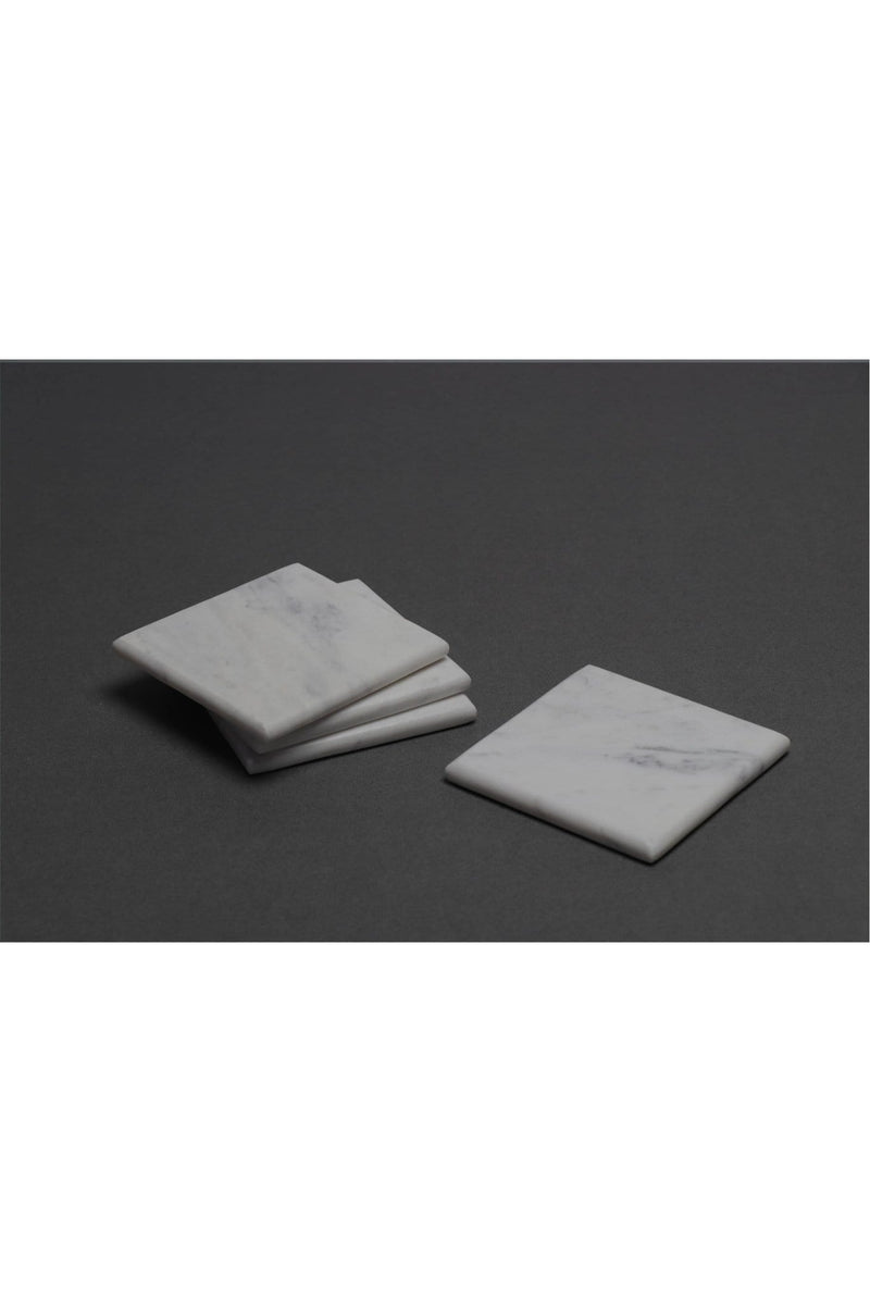 VARY - MARBLE COASTERS - WHITE - ART AVENUE