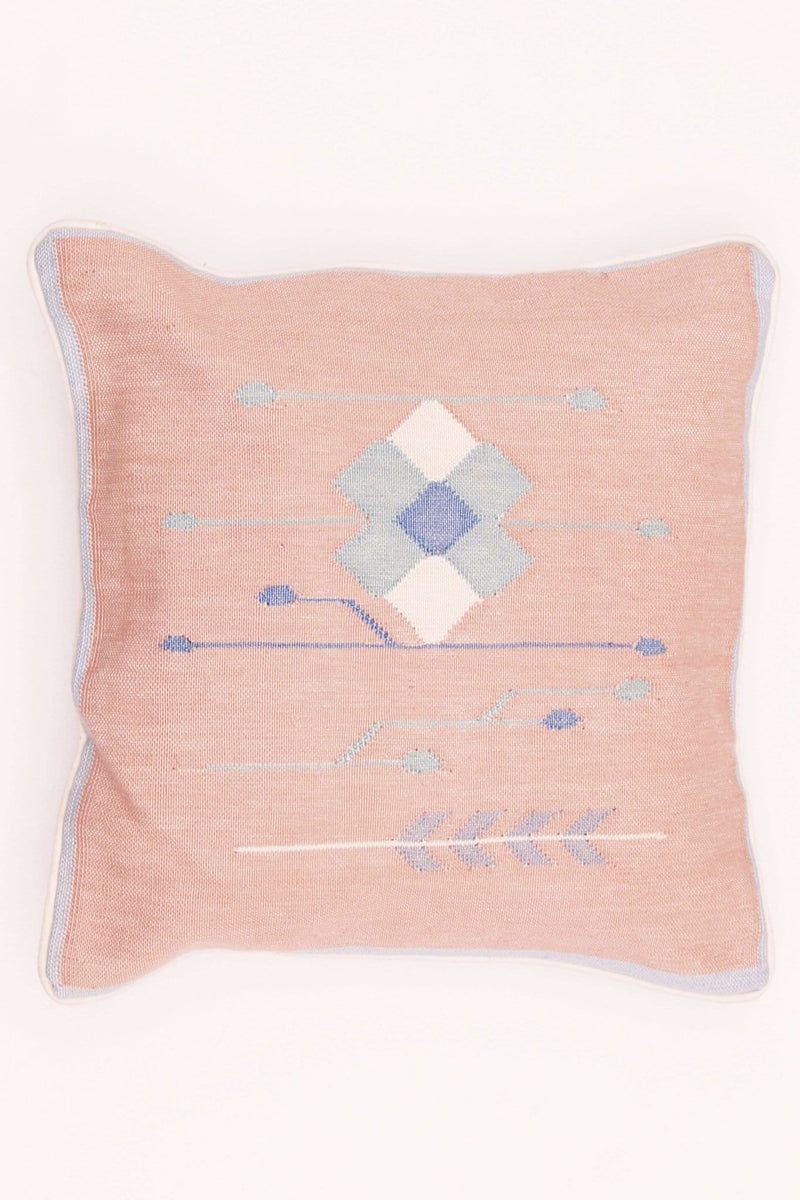 VIBE - SQUARE CUSHION COVER - BROWN - ART AVENUE