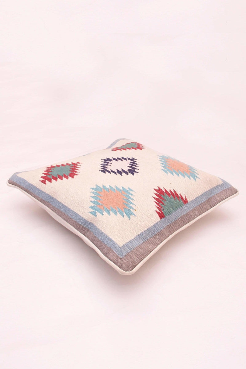 ZIGZAGGING - SQUARE CUSHION COVER - MULTICOLOR - ART AVENUE