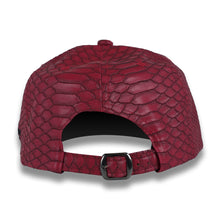 Load image into Gallery viewer, Red & Black Money Bag (Snake Strapback)