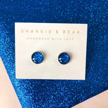 Load image into Gallery viewer, Glass Dome Glitter Studs - Single Set