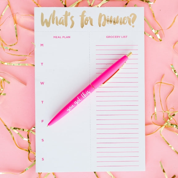 Meal Planning Notepads