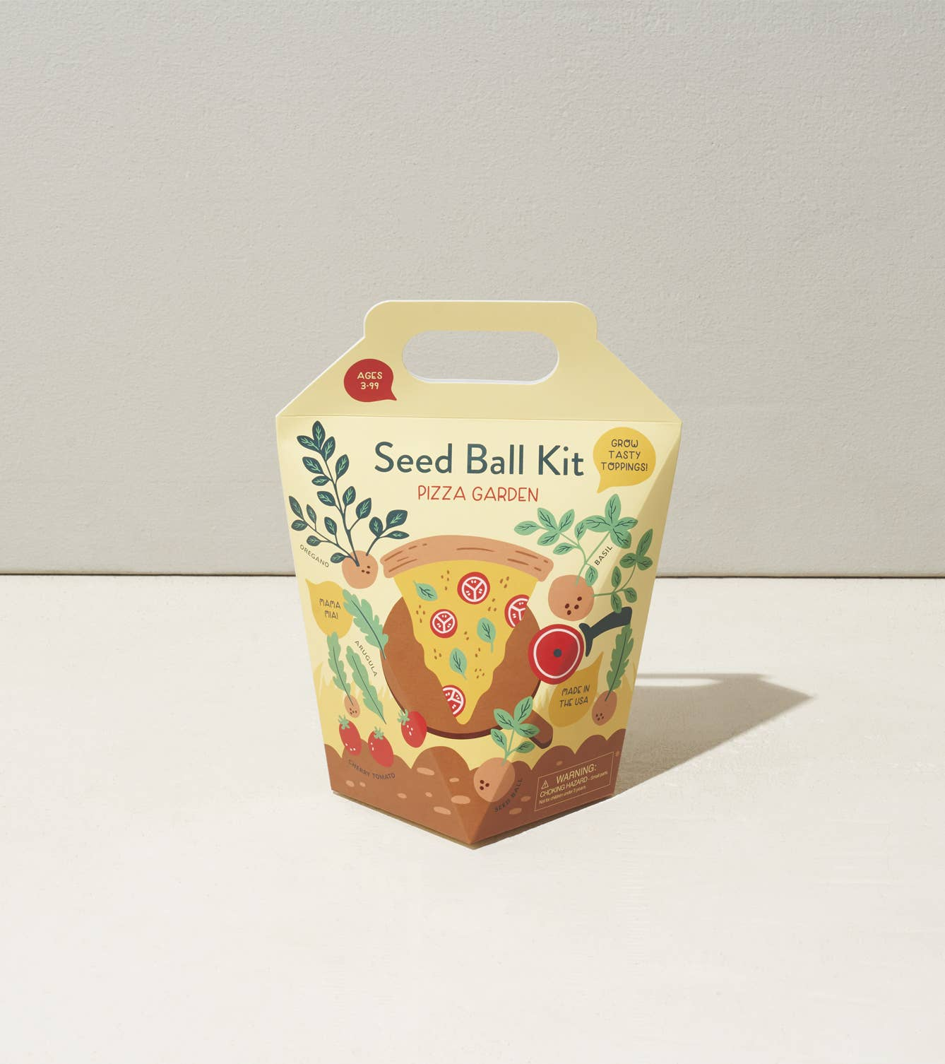 DIY Seed Ball Kit - Pizza Garden