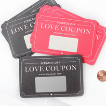 Load image into Gallery viewer, Box of 12 - Scratch-off Love Coupons