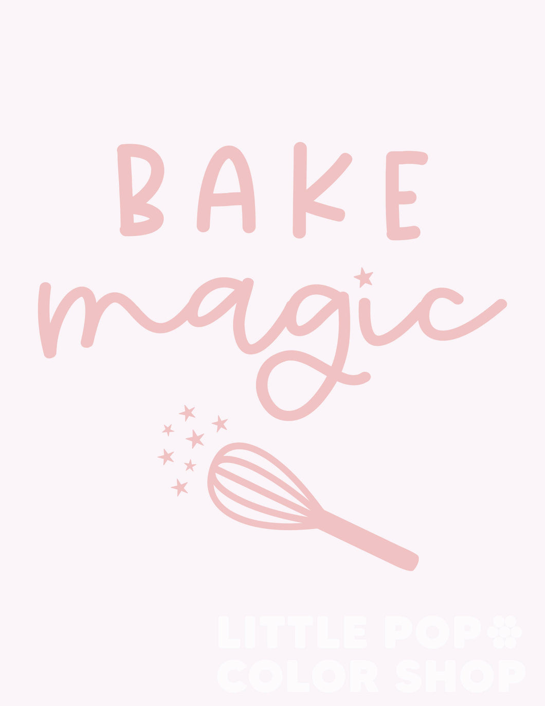 Bake Magic - Play Kitchen Print