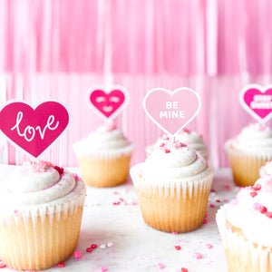 Valentine's Treat Toppers