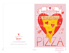 Load image into Gallery viewer, Pizza Love Card