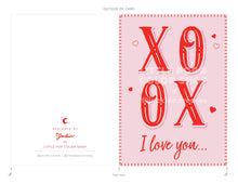 Load image into Gallery viewer, XOXO Pop Up Card