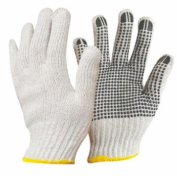 COTTON DOTTED WORKING GLOVES