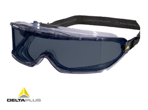 GALERAS - CLEAR POLYCARBONATE GOGGLES - INDIRECT VENTILATION