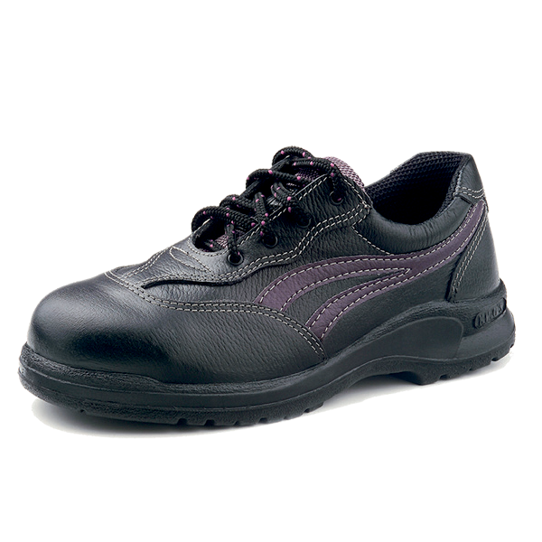 KL335X - Ladies Low Cut Safety Shoes With Steel Toe Cap