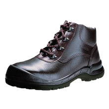 Load image into Gallery viewer, KWD901KX  - Brown High Cut Safety Shoes With Steel Toe Cap