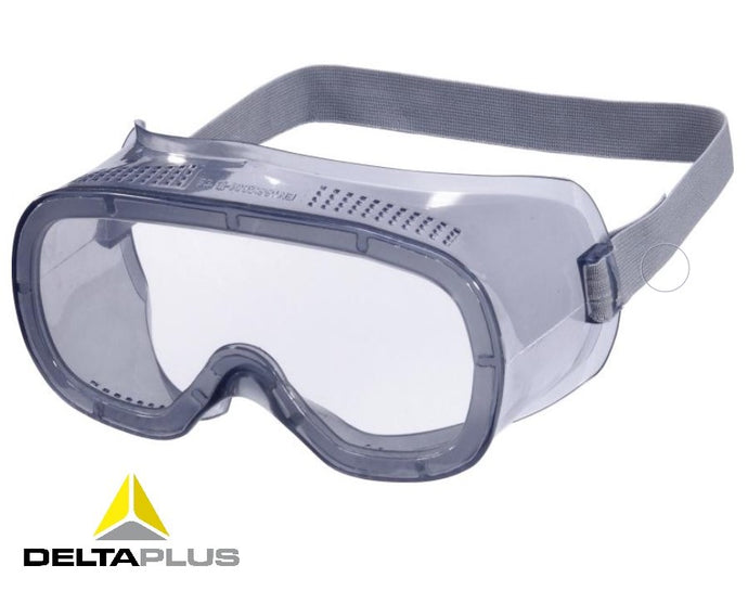 MURIA1 - CLEAR POLYCARBONATE GOGGLES - DIRECT VENTILATION