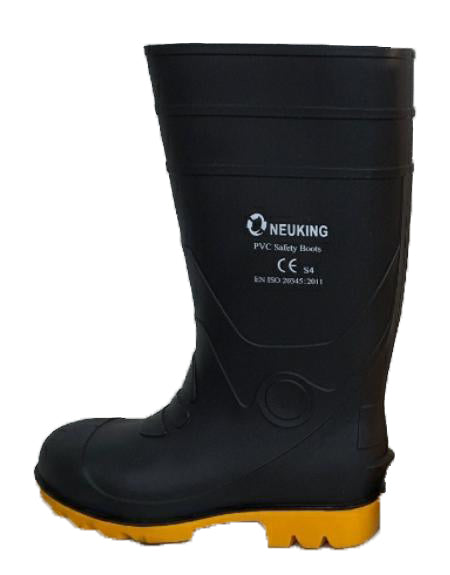 NKP30 - PVC Safety Boots with Steel Toe Cap and Steel Midsole