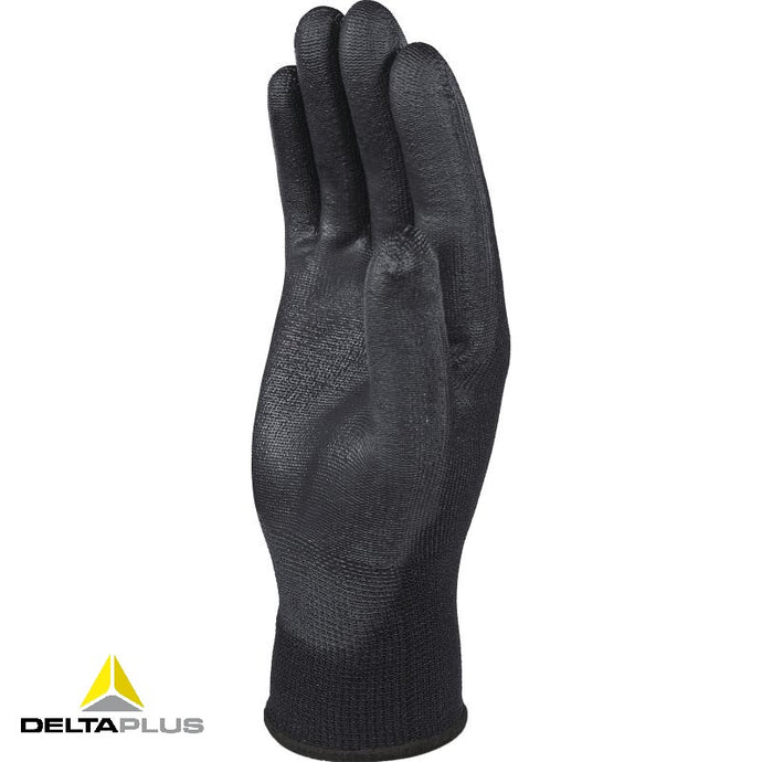 VE702PN - POLYESTER KNITTED GLOVE / PU PALM