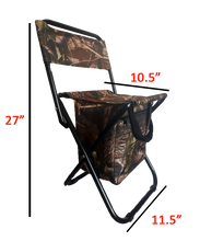 Load image into Gallery viewer, Portable Camping Chair Seat