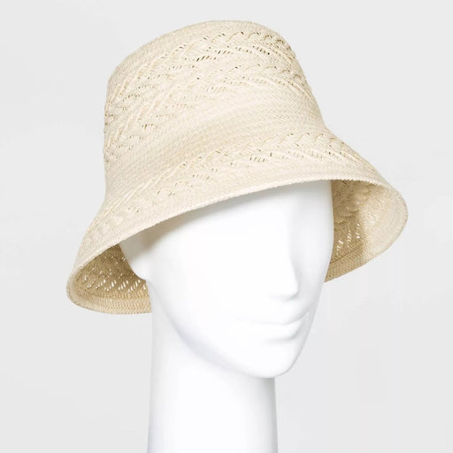 A New Day Women's Bucket Hats Natural One Size - Best By