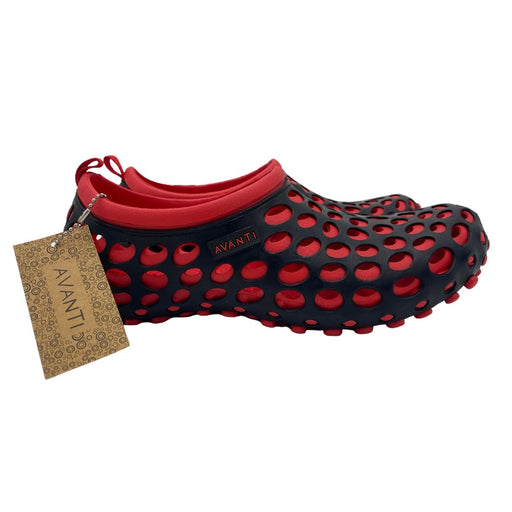 AVANTI Black and Red Hydrotrek Women's Classic Water Shoe - Best By