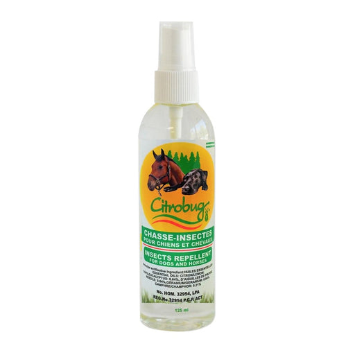 Citrobug Insect-Repellent for Dogs & Horses 4oz - Best By