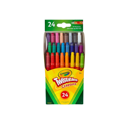 Crayola Mini Twistables Crayons 24ct - Best By