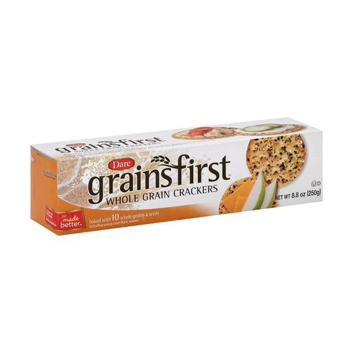 Dare Grainsfirt Whole Grain Crackers 8.8oz - Best By