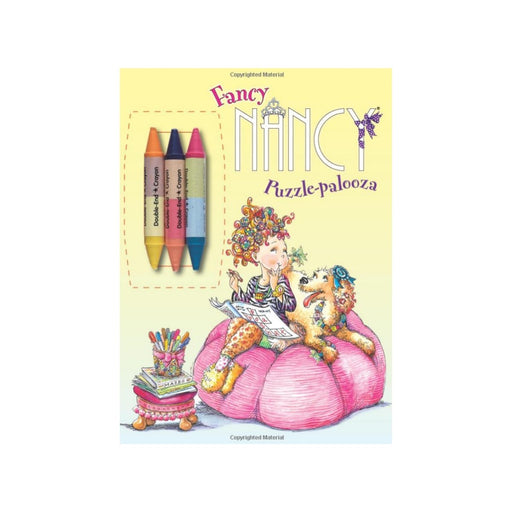 Fancy Nancy Puzzle-Palooza Coloring Book - Best By