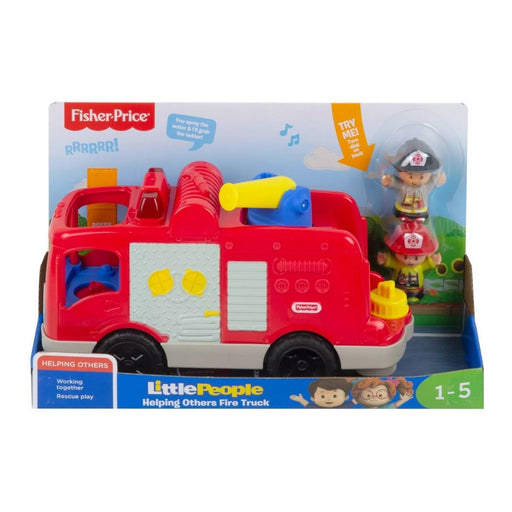 Fisher-Price Little People Helping Others Fire Truck - Best By