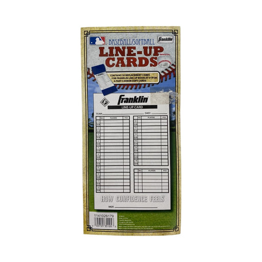 Franklin Line-Up Replacement Cards 20ct - Best By