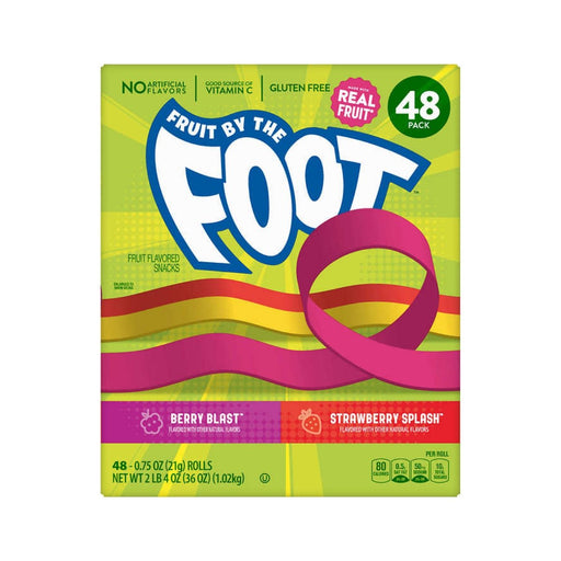 Fruit By The Foot Variety Pack 0.75oz 48ct - Best By