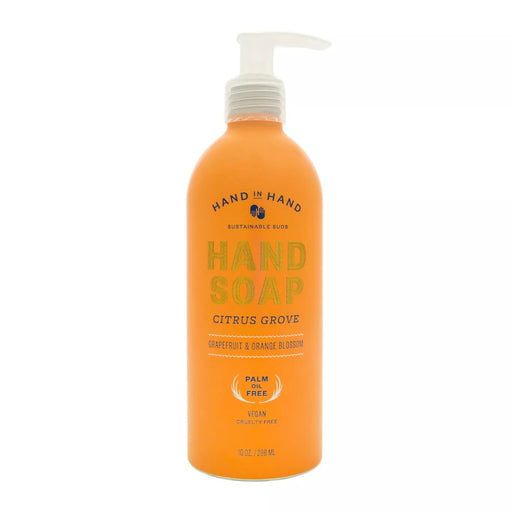 Hand in Hand Liquid Hand Soap Citrus Grove 10 fl oz - Best By