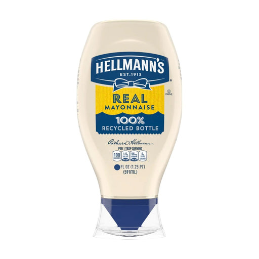 Hellmann's Real Mayonnaise Squeeze Size 25oz - Best By