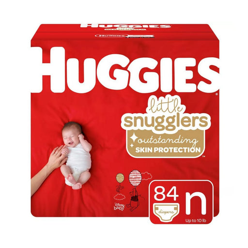 Huggies Little Snugglers Diapers Newborn 84ct - Best By