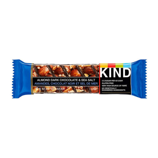 Kind Bar Almond Dark Chocolate & Sea Salt 1.4oz 8ct - Best By