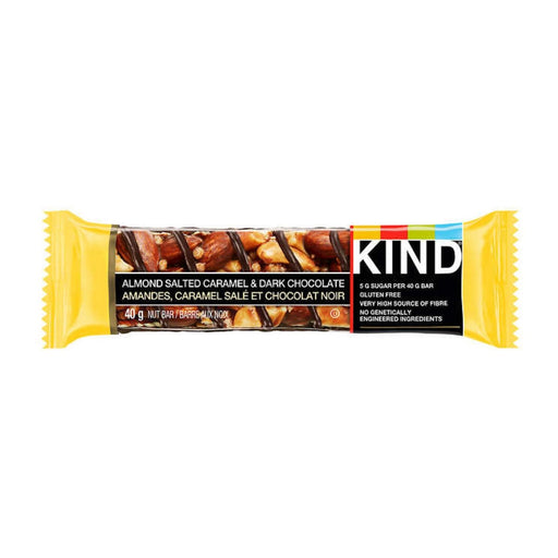 Kind Bar Almond Salted Caramel & Dark Chocolate 1.4oz 8ct - Best By