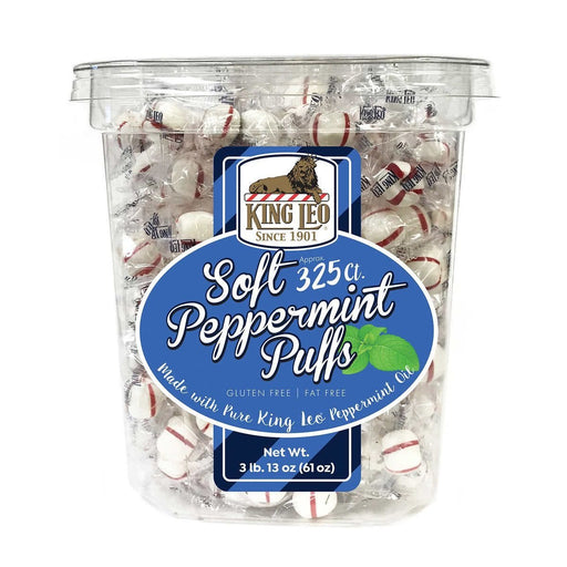 King Leo Soft Peppermint Puffs 325ct - Best By