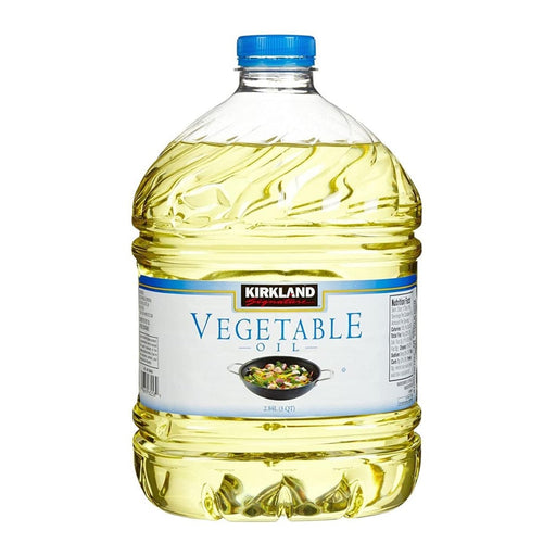 Kirkland Signature 100% Pure Vegetable Oil 3qt - Best By