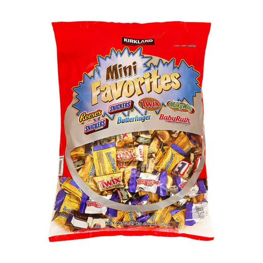 Kirkland Signature Mini Favorites Variety Pack 5lb - Best By
