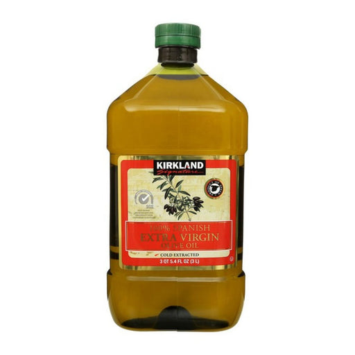 Kirkland Signature Spanish Extra Virgin Olive Oil 3L - Best By