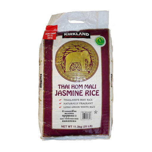 Kirkland Signature Thai Hom Mali Jasmine Rice 25 lbs - Best By