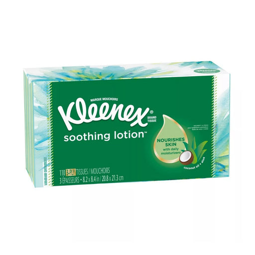 Kleenex Soothing Lotion Facial Tissue 100ct 4pk - Best By