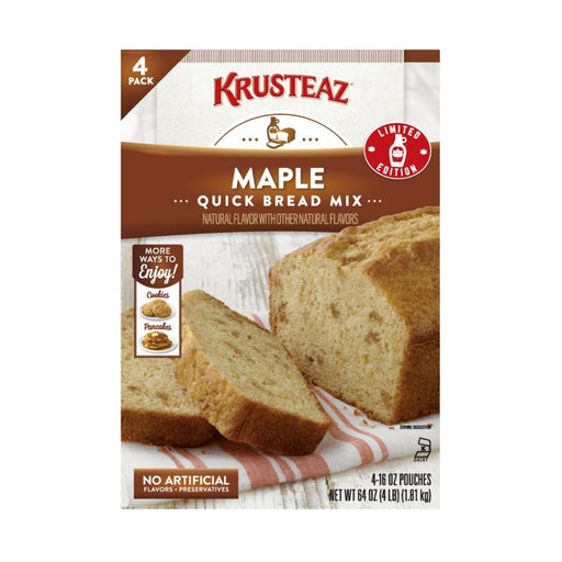 Krusteaz Maple Quick Bread Mix - Best By