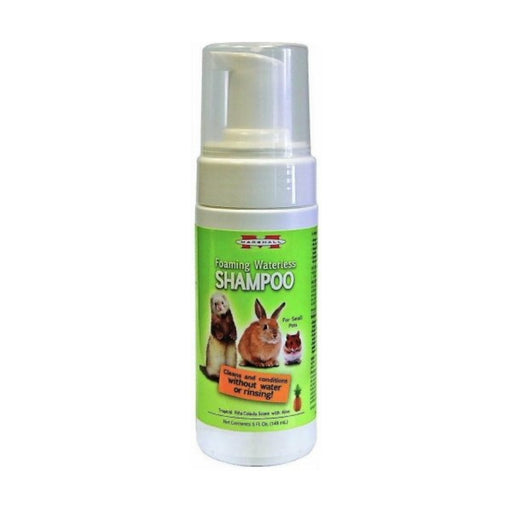Marshall Foaming Waterless Shampoo for Small Pets 5oz - Best By
